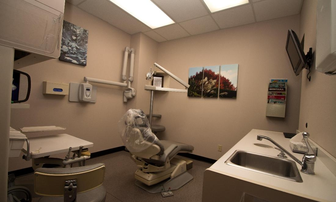 Nelson Dentistry treatment room