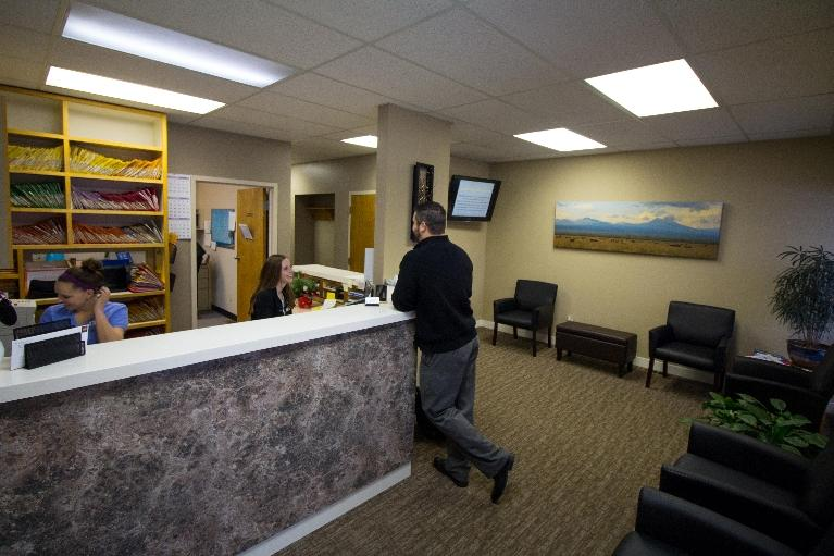Nelson Dentistry Reception