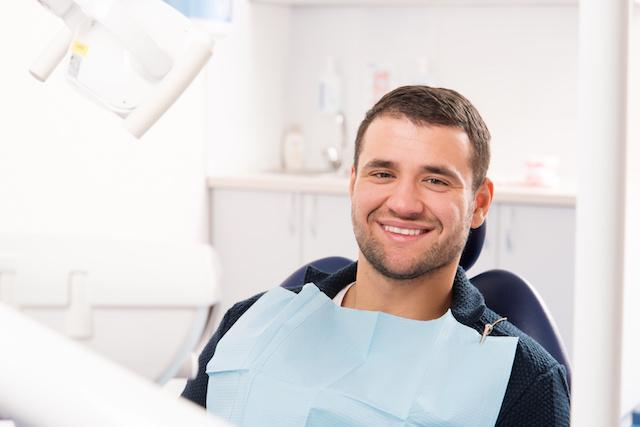 Man Sitting in Dental Chair | Gentle Extractions in Missoula
