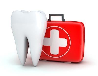 Tooth and first aid kit at emergency dentist in Missoula, MT