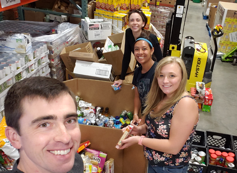 The team at Nelson Dentistry volunteers at Missoula Food Bank & Community Center | Missoula, MT